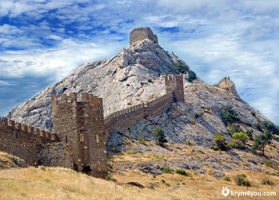 Легенда о Девичьей башне в Судаке