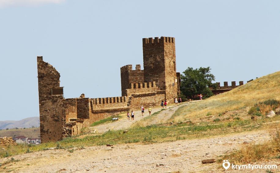 Судак Генуэзская крепость фото