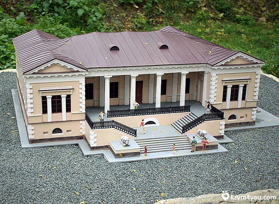 Дом графа Воронцова Крым
