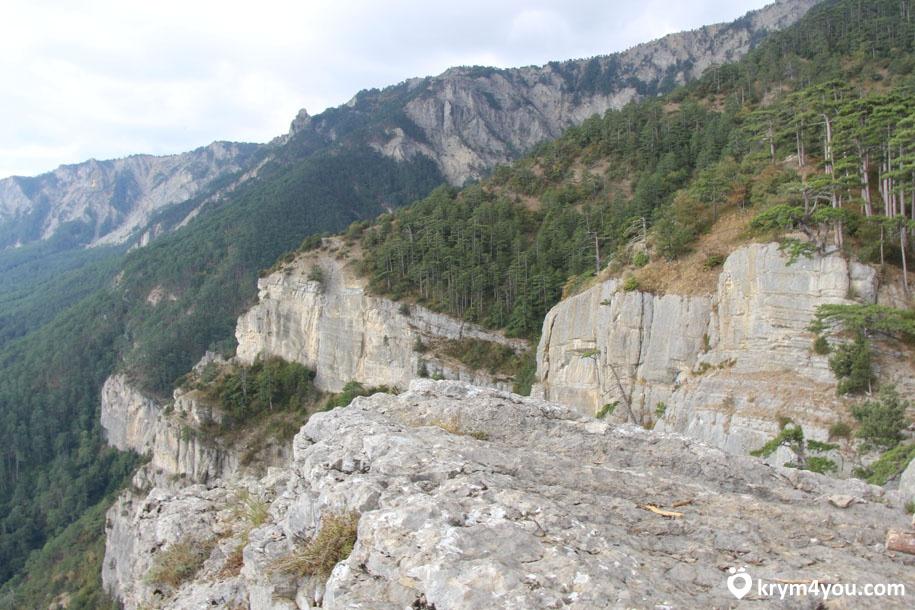 Штангеевская тропа на горе Ай-Петри