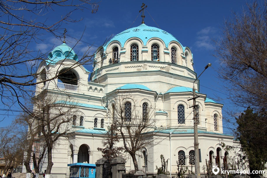 Собор Святого Николая Чудотворца в Евпатории Крым фото