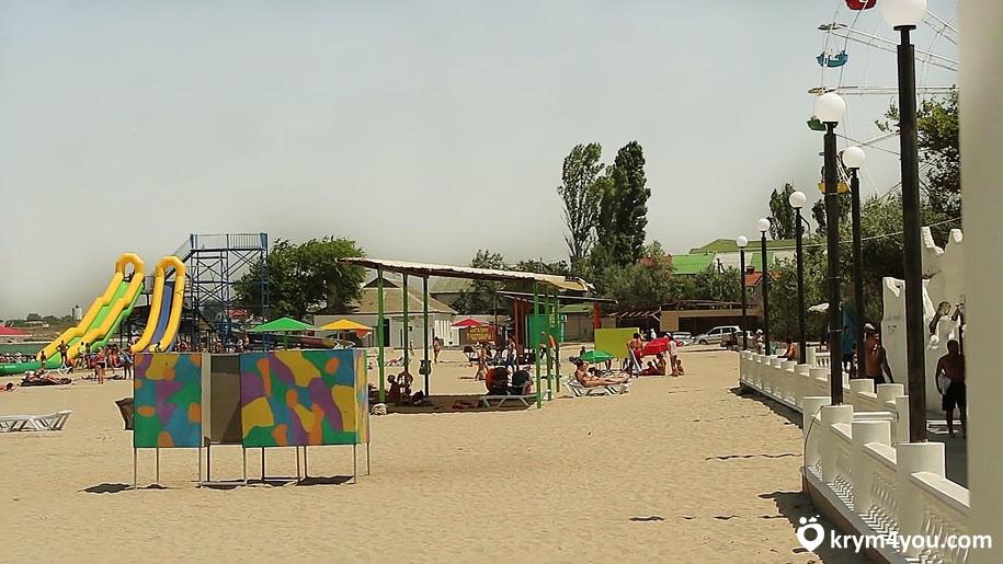пляжи поселка Черноморское