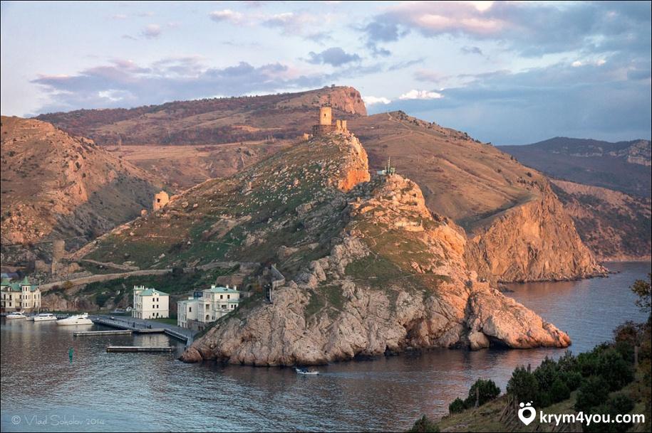 Генуэзская крепость Чембало в Балаклаве