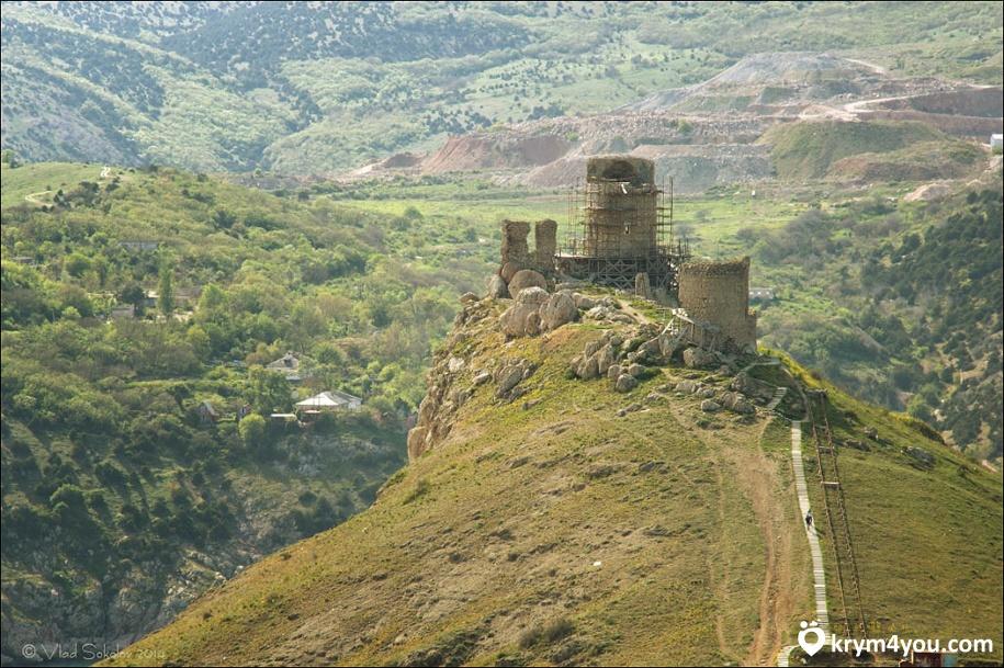 Балаклава достопримечательности Крепость Чембало