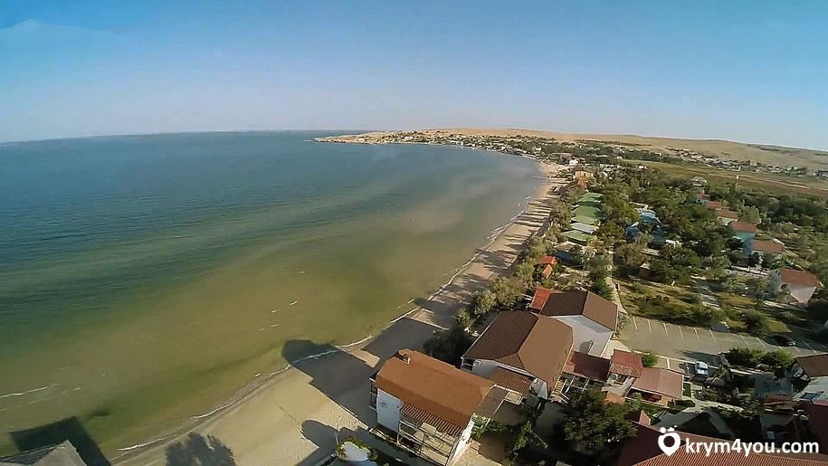 Щелкино Крым пляж