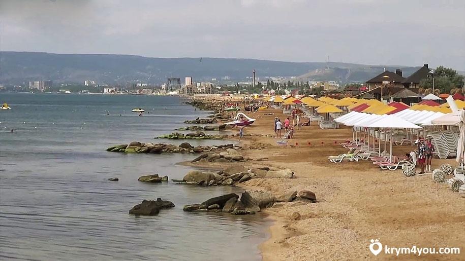 Береговое пляж