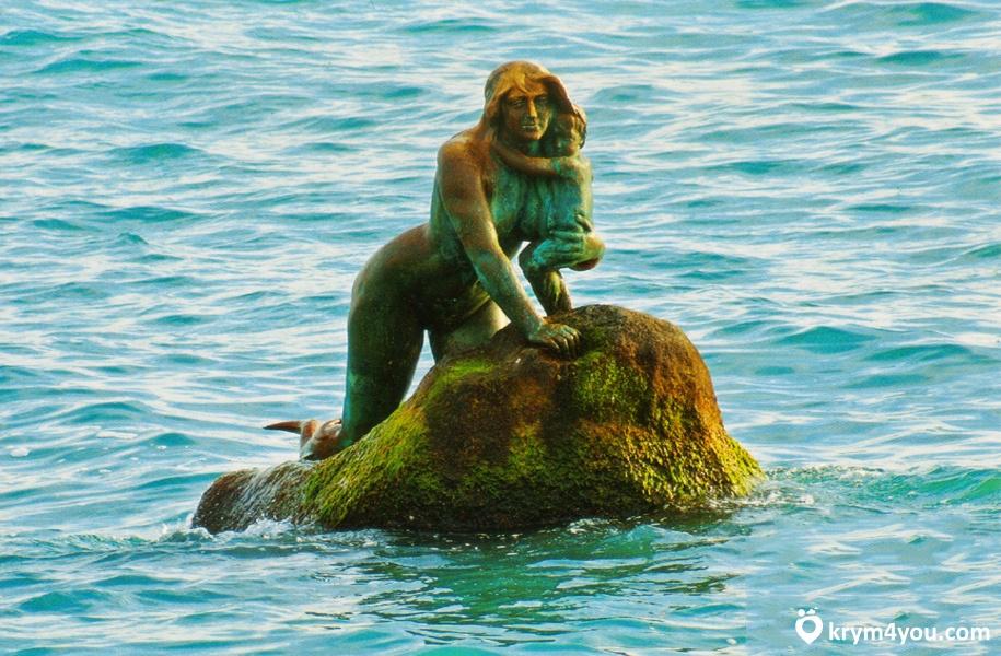 мисхор русалка легенда