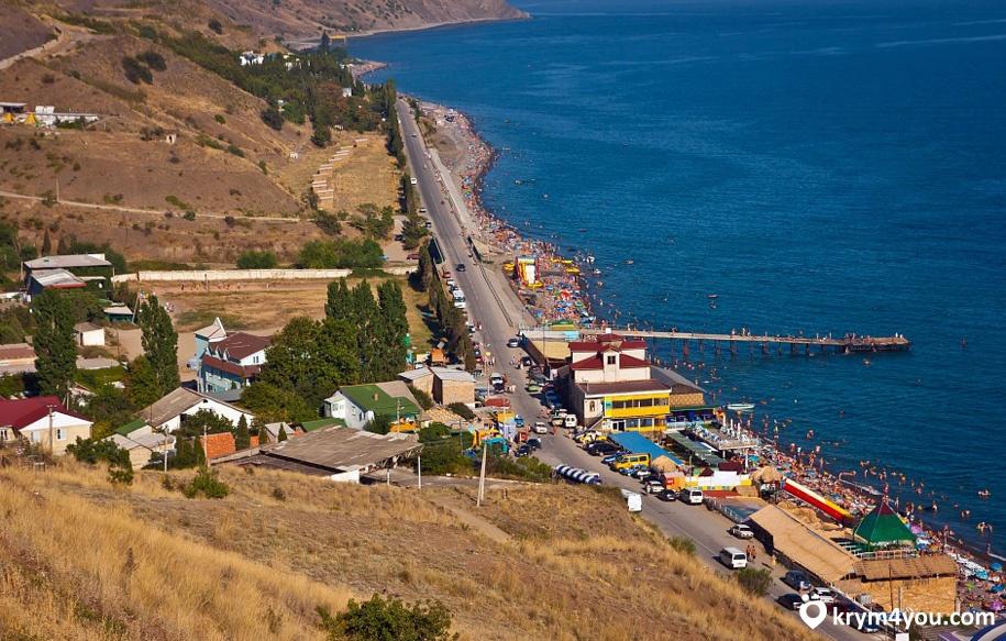 Поселок Морское Крым фото1