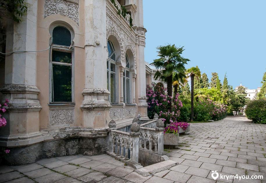 Дворец эмира Бухарского Ялта фото 1
