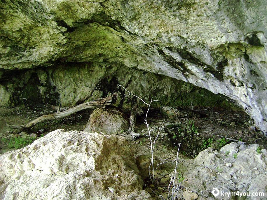 Киик-Коба стоянка первобытного человека, пещера