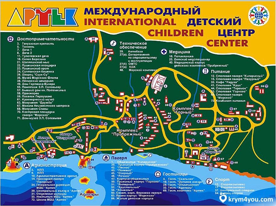 Крым фото Артек