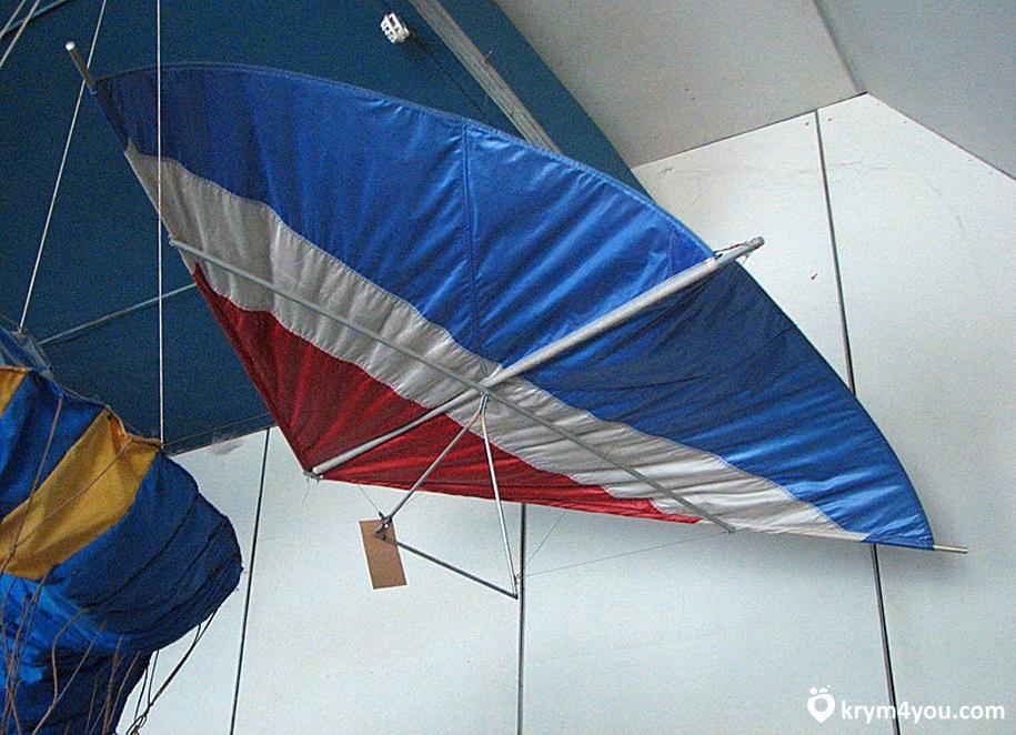 Крым Музей дельтапланеризма в Феодосии