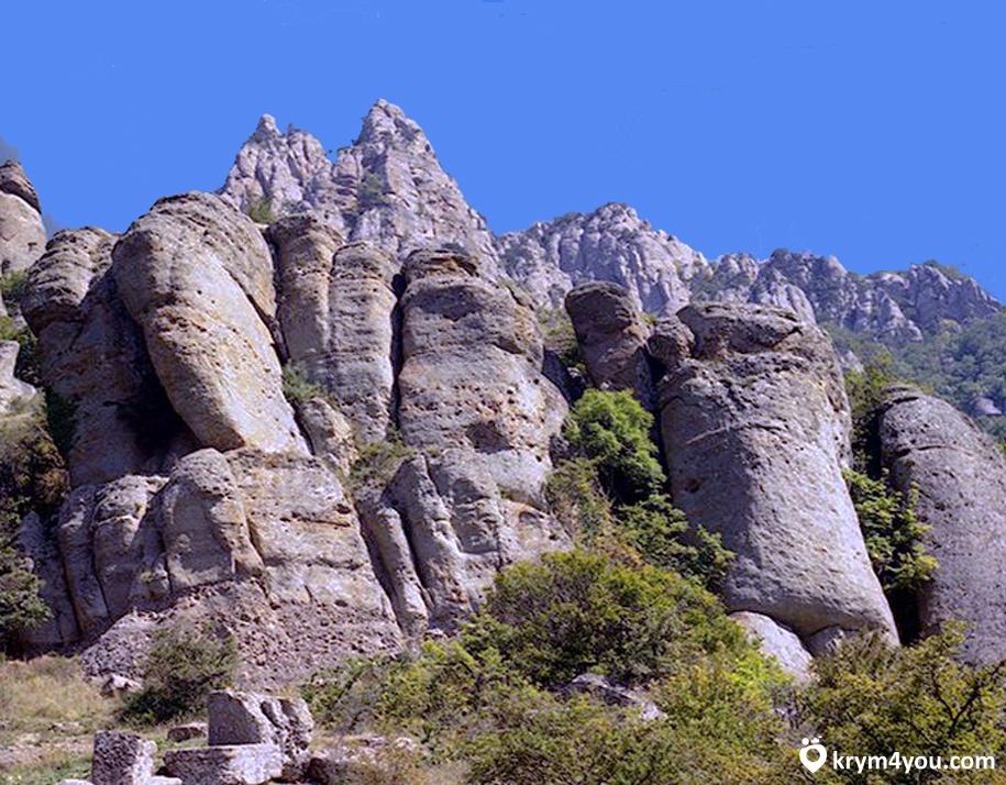великаны до горы Демерджи