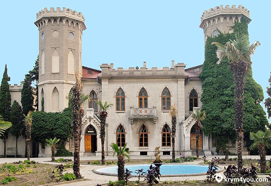 Дворец графини Паниной Крым