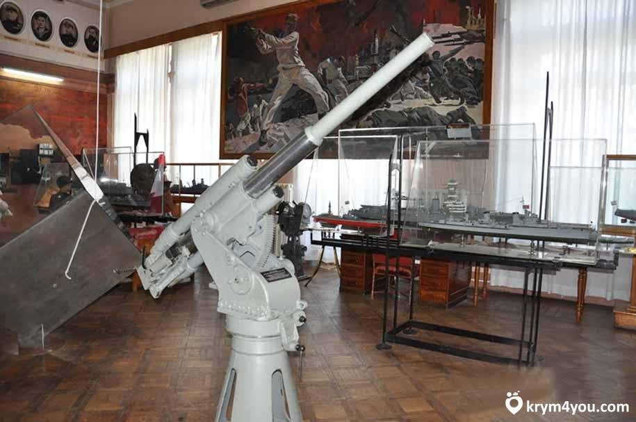 Музей Черноморского флота Крым Севастополь