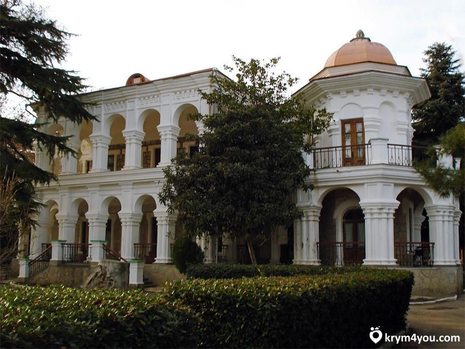 Дача купца Стахеева Алушта Крым фото 1
