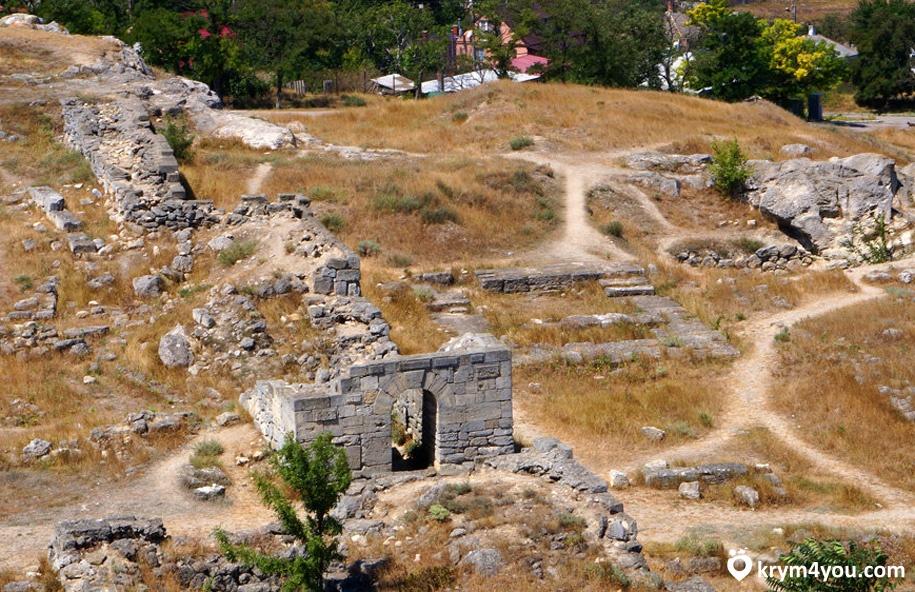 Гора Митридат Керчь фото