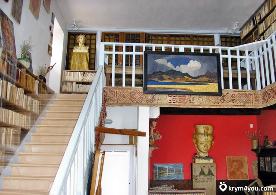 Музей Волошина Крым фото 2