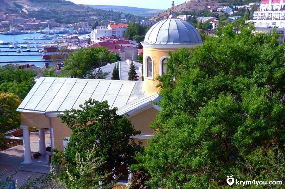Балаклава достопримечательности Храм 12 апостолов
