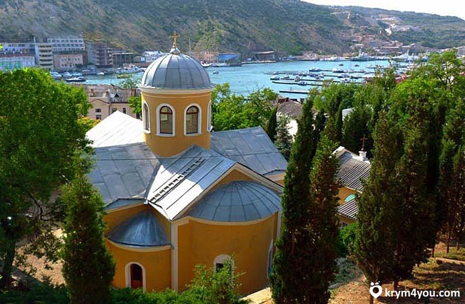 Храм 12 Апостолов Балаклава Крым