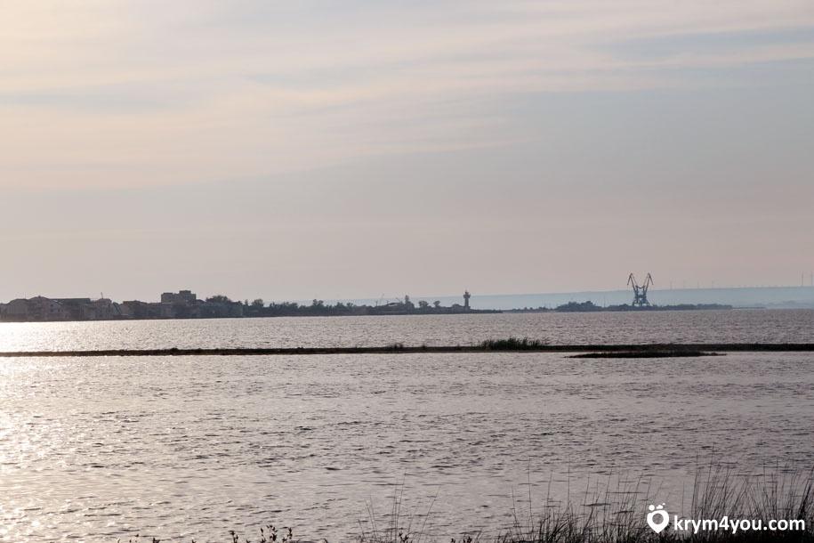 Крым озеро Донузлав