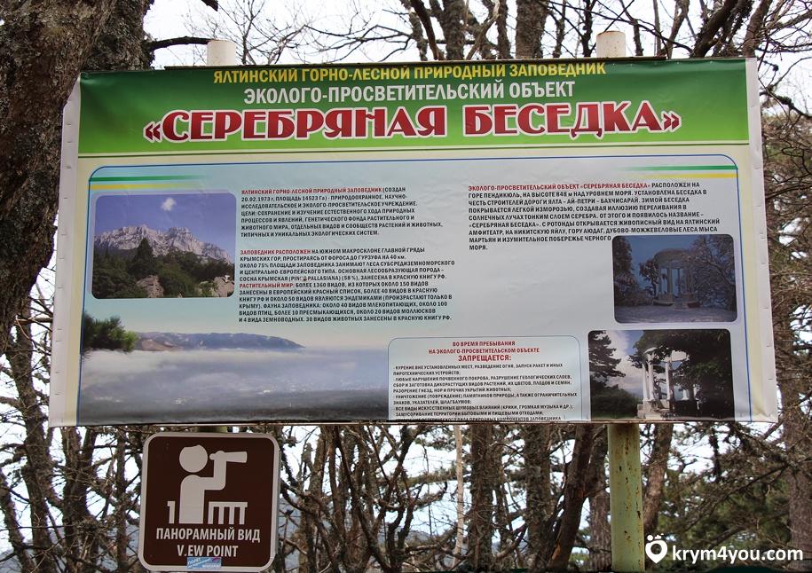 Стоимость посещения водопада и беседки на Ай-Петри