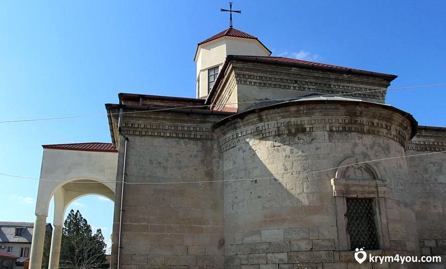 Армянская церковь в Евпатории Крым фото 2