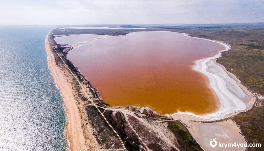 Кояшское озеро Крым фото, Керчь