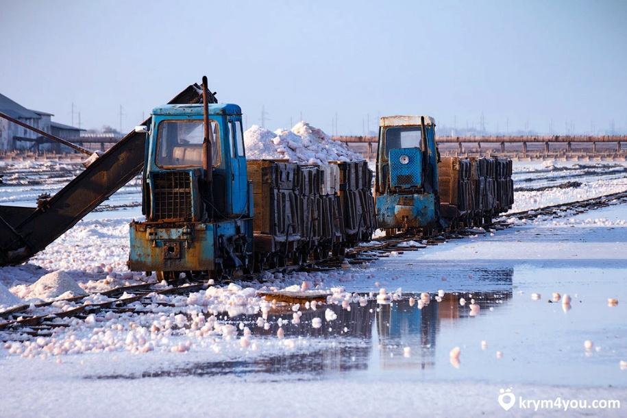 Озере Сасык-Сиваш Крым фото