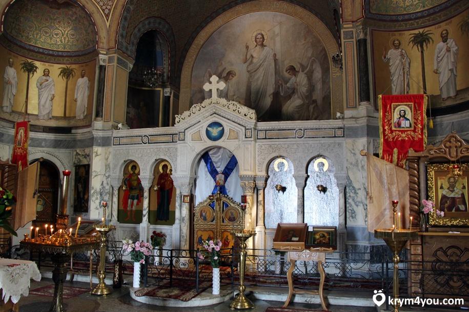 Церковь Пирамида, Севастополь, Свято-Никольская церковь 1