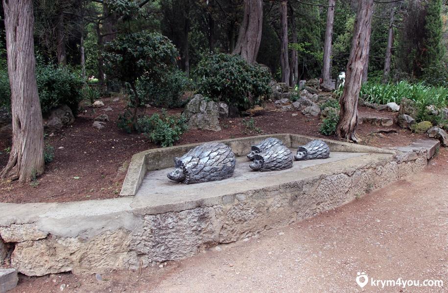Парк Симеиза Крым фото