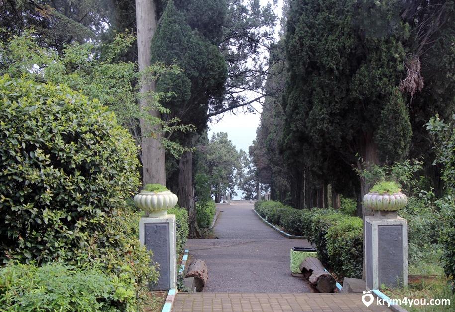 Парк Симеиза Крым