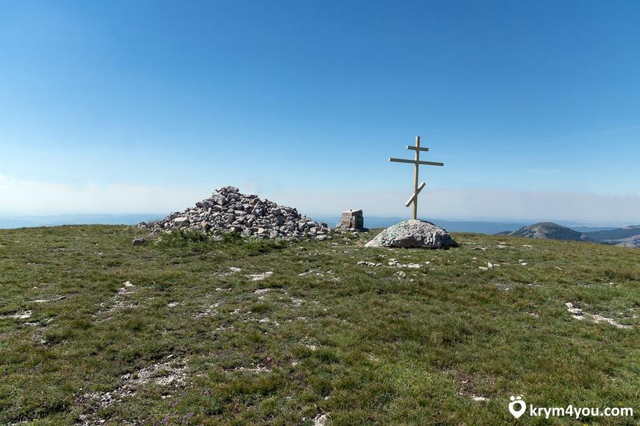Гора Роман-Кош Крым фото