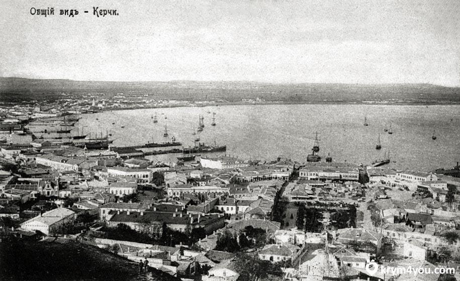 Крым Набережная Керчи