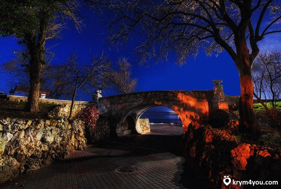 Набережная Севастополя мост