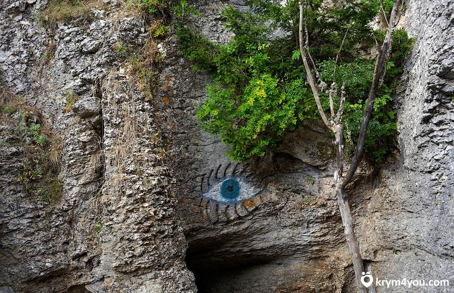 Пещера Трехглазка Ай-петри Крым