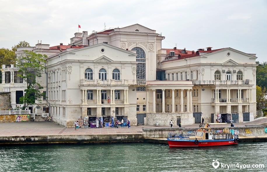 Дворец Детства и Юности в Севастополе Крым