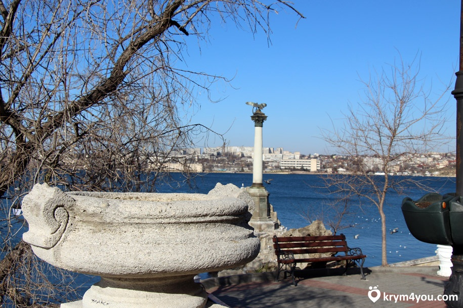 Приморский бульвар Севастополь 2