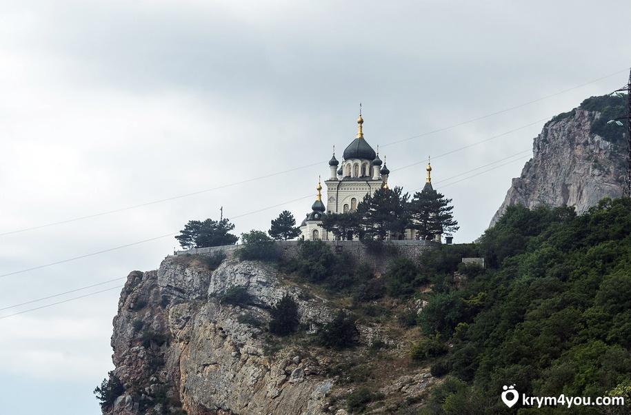 Достопримечательности Фороса- Храм Воскресения Христова