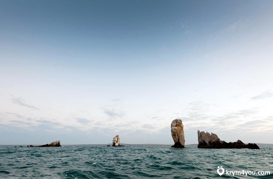 Скалы-корабли Крым
