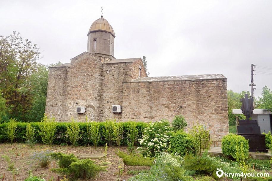 Иверский храм в Феодосии