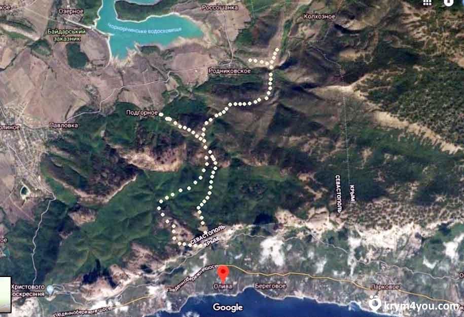 Чертова лестница в Крыму или Шайтан-Мердвенская тропа